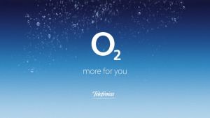 Still of the o2 logo from the o2 video.